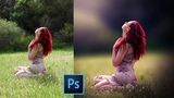 How to Blur Background and Retouching a Photo in Photoshop CC