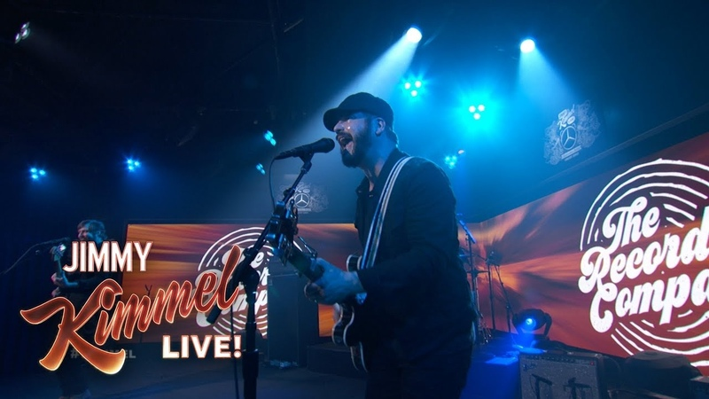 The Record Company - The Movie Song (Jimmy Kimmel Live)