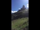 С вершины Гергетского Свято-Троицкого монастыря Грузия