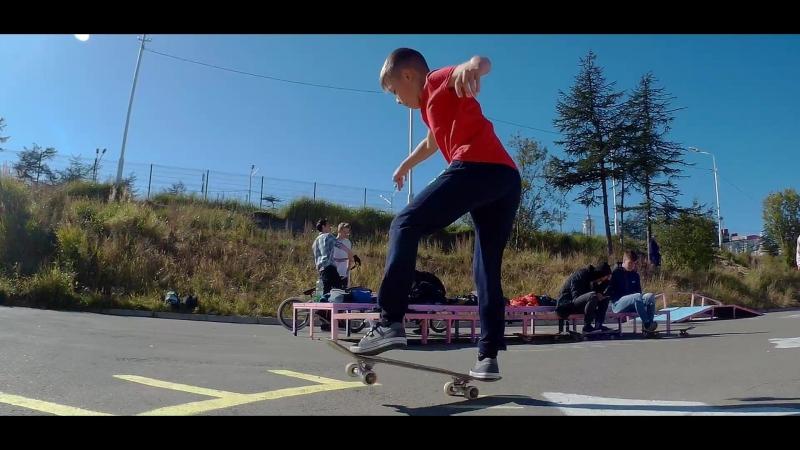 Скейт-контест Дерзай