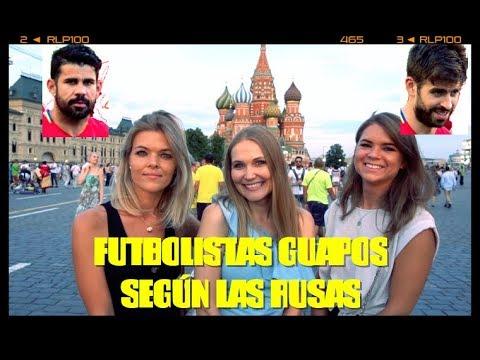 RUSAS ELIGEN AL FUTBOLISTA MÁS GUAPO DEL MUNDIAL