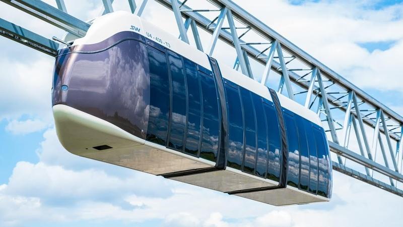 Презентация струнного транспорта Юницкого SkyWay | Presentation of SkyNay Unicorn String Transport