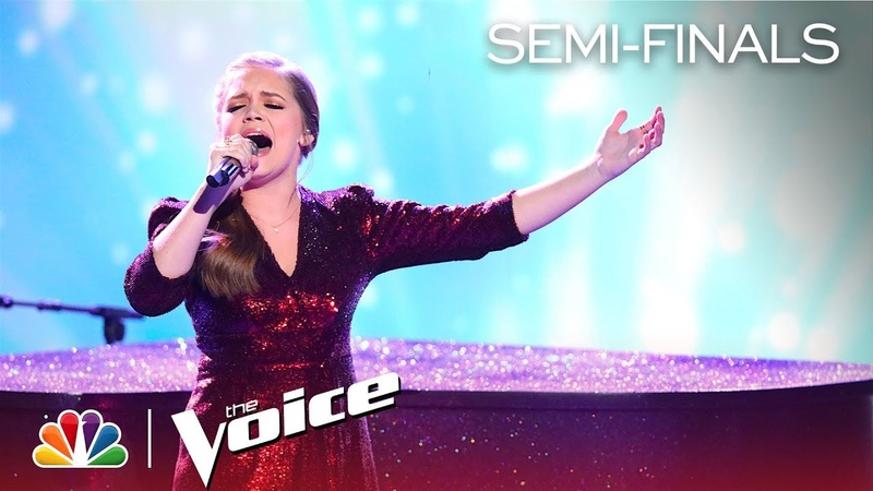 Sarah Grace's Vocals Soar to Sign of the Times - The Voice Live Semi-Final, Top 8 Performances