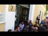 Задержание греческих комсомольцев на антивоенной антиимпериалистической демонстрации в Афинах