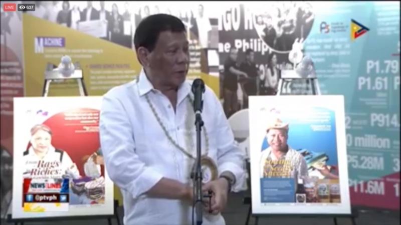 Pres Duterte on VP Leni Robredo: