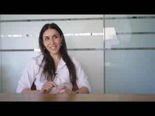 Анна Ашотовна Агаджанян - о собеседовании в Медиэстетик 13 лет назад