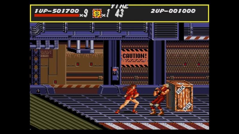 Brick_Man - Streets of Rage (double hardest)