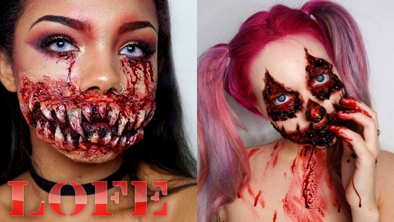 Best Makeup Halloween 2018 - Top Halloween Makeup Tutorial Compilation 2018