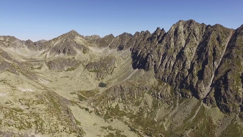 DJI Phantom 3 Advanced, Slovakia: High Tatras: Strbsky stit - Satan