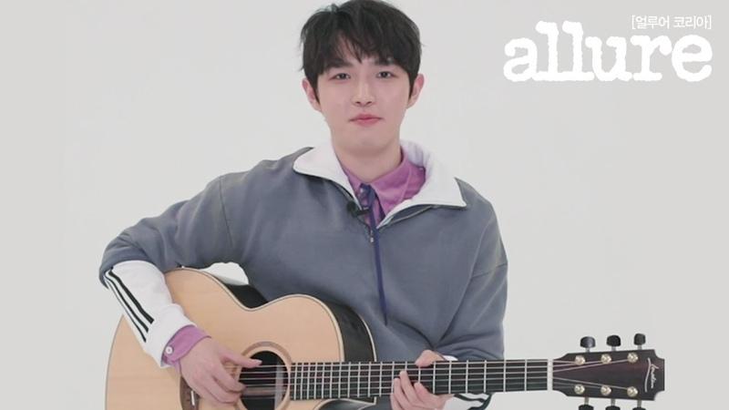 김재환이 윈드의 질문에 답했습니다. KIM JAEHWAN | 얼루어코리아 Allure Korea