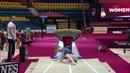 Lilia Akhaimova Crashes Her Vault in Warmups WAG TF Doha 2018