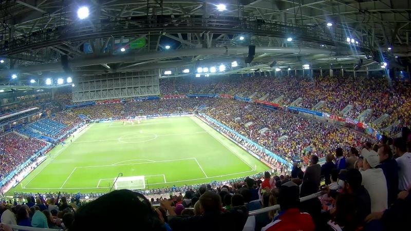 Колумбия гол Англии в добавленное время