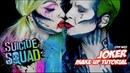 JOKER SUICIDE SQUAD ( POP ART ) MAKE UP TUTORIAL - Halloween 2016