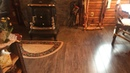 THE BACKWOODS CABIN. Episode 29. Workshop projects installed. The wood floor is complete.
