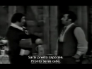 Carlo Begonzi - Giuseppe Taddei - La donna e un animale de L'Elisir D'Amore de Donizetti (subtítulos español y francés)