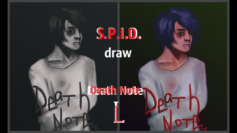 S.P.I.D. art L\ Death Note