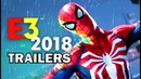 E3 2018: Best Cinematic Game Trailers Compilation E32018