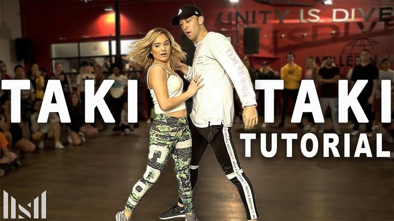 TAKI TAKI - DJ Snake ft Ozuna, Selena Gomez, Cardi B Dance Tutorial | Matt Steffanina Chachi