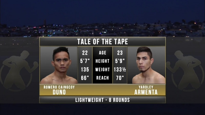 Romero Duno vs Yardley Armenta (HD 1080)