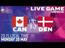 Canada vs. Denmark | Full Game | 2019 IIHF Ice Hockey World Championship