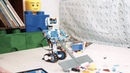 LEGO BOOST - помощники в уборке комнаты.