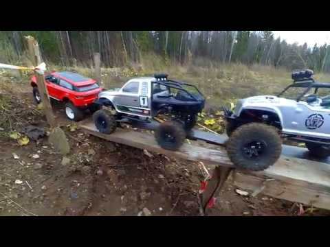Траектория RC - Remo Hobby Trial Rigs vs Axial SCX10 vs Axial AX10 Ridgecrest vs HSP RGT
