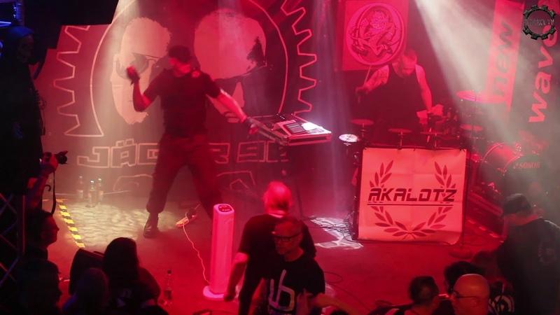 Akalotz in Hannover - Rapt Tears (live)