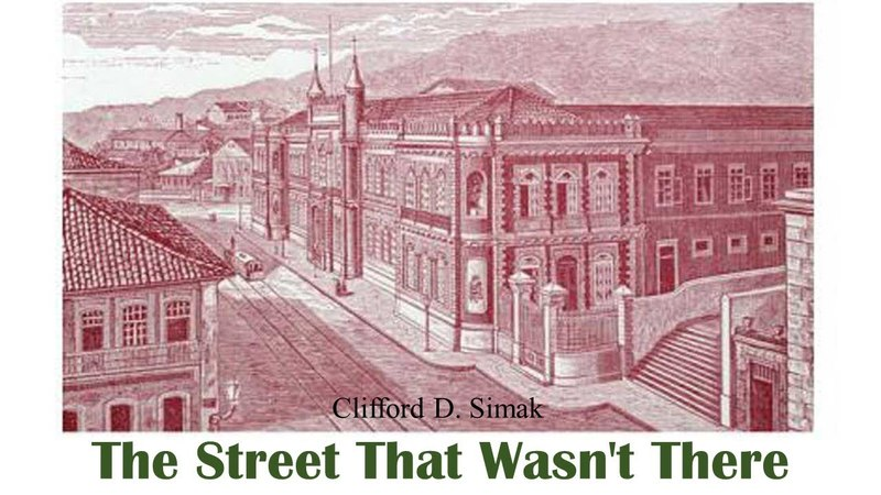 Learn English Through Story The Street That Wasn't There by Clifford D Simak