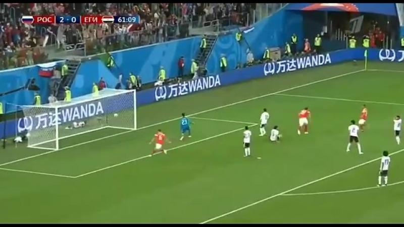 Все голы матча Россия – Египет