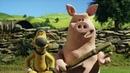 Барашек Шон серия 91 - Бейсбол / Shaun the Sheep - The Rounders Match (HD)