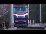 Электровоз ЧС7-032 с пассажирским поездом № 602Я, Москва - Рыбинск