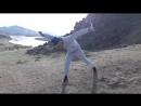 Hээр шаалган на фоне реки Селенга