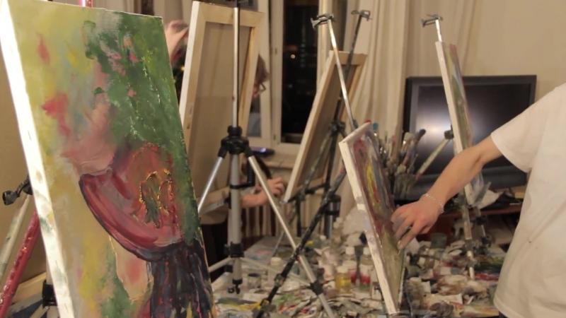 Интуитивная живопись и рисование от Игоря Сахарова