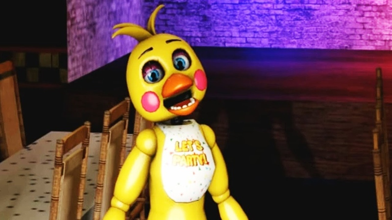 (FNAF) Toy Chica FLIRTS! (Five Nights at Freddy's Animations)