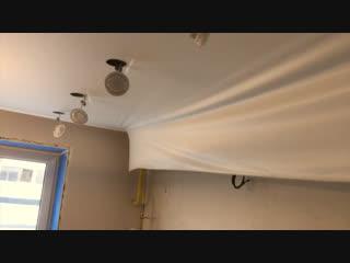 Не много о монтаже электрики на потолке. И