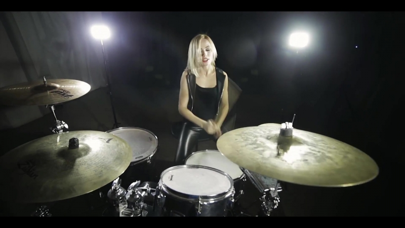 """Мочит Как Хочет"" (СЛОТ Drum Cover by Elina Taranenko)"