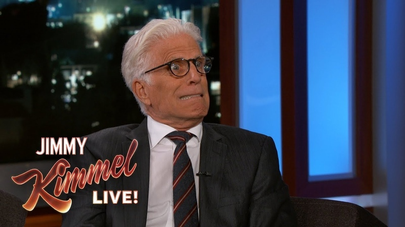 Ted Danson Can't Keep a Secret