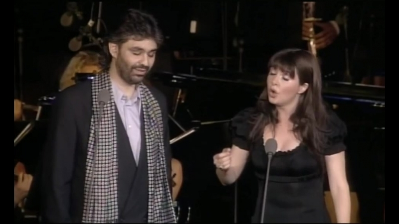 Time To Say Goodbye (With Andrea Bocelli) (A Night in Tuscany VHS-DVD, 1997)