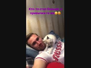 Даниил Глейхенгауз - котик, подаренный Алиной растет))