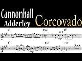 Cannonball Adderley - Corcovado Alto Sax transcription (bossa nova)