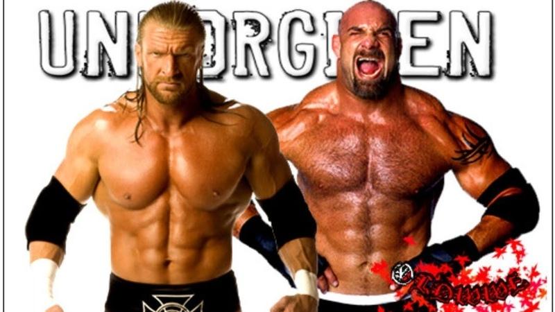 WWE Unforgiven 2003 Bill Goldberg vs Triple H Whc Title Full Match