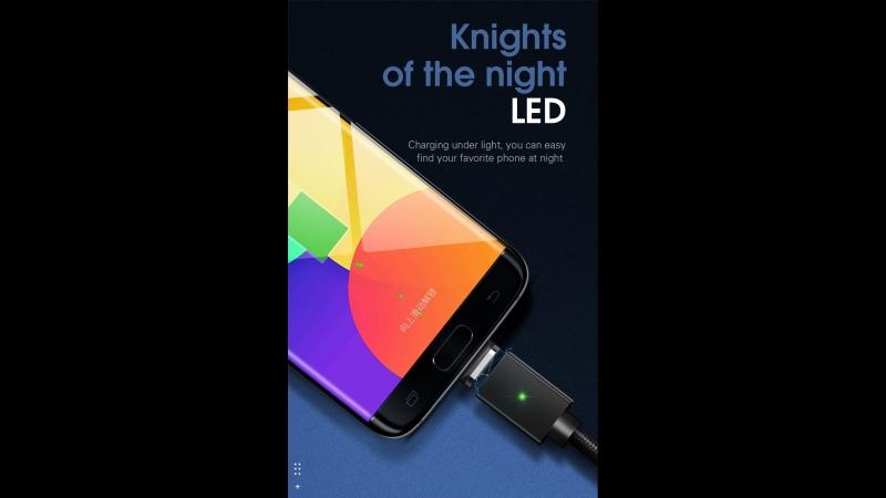 Магнитный кабель USB для iPhone Тип C Micro USB