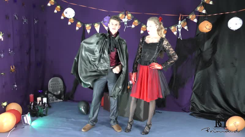 Jessy and Connor Halloween promo agency Brima.dJessy and Connor Halloween promo agency Brima.d