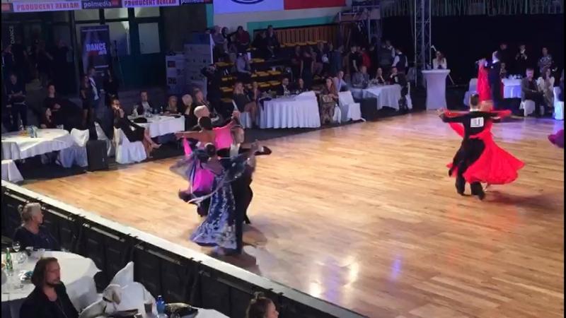 Чемпионат мира по 10 танцам. Танго. Youth under 21. Semifinal