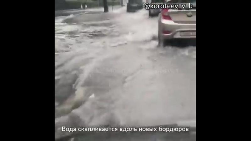 Московский активист - Москву опять затопило
