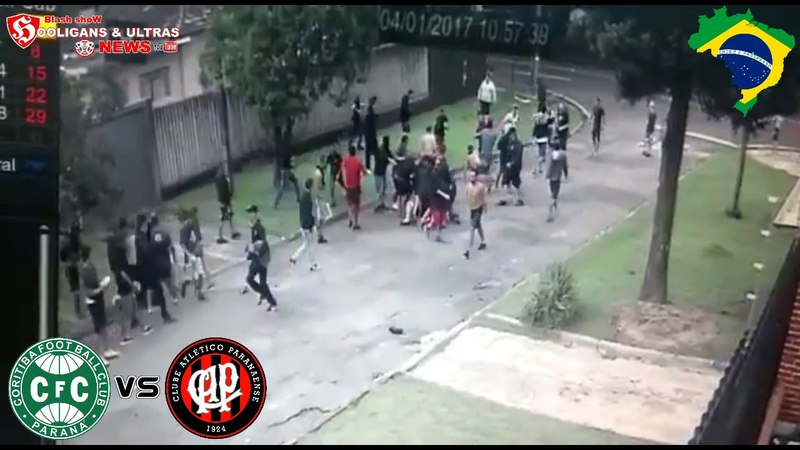 CORITIBA (GAIG IAV) VS ATLÉTICO PARANAENSE(ZONA OESTE)/CRAZY FANS BRAZIL 1.04.2018