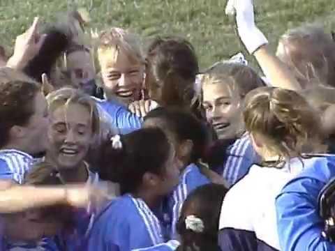 1994 NCAA Womens Soccer Final ⚽ UNC vs. Notre Dame (Part 5)