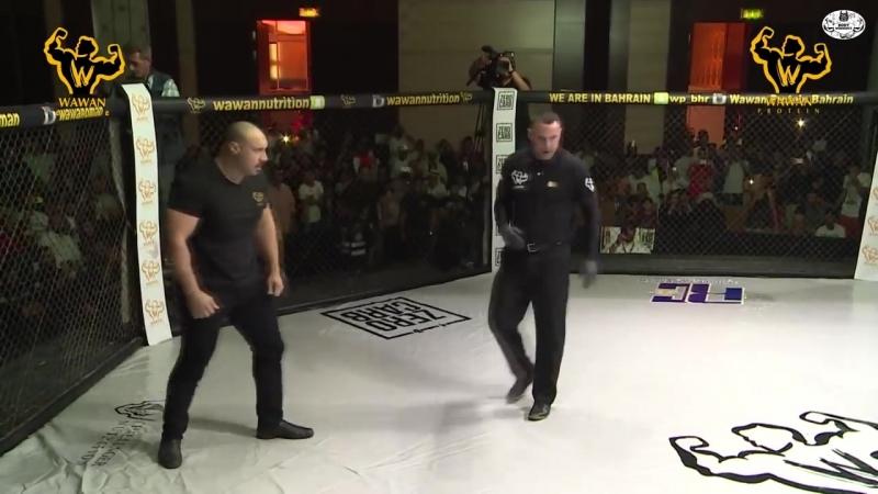Бойко в Клетке MMA Подрался с Громилой