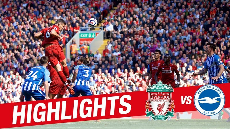 Highlights Liverpool 4-0 Brighton | Reds wrap up Premier League season with a win