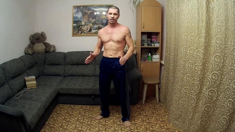Тренировка дома на все группы мышц без инвентаря.